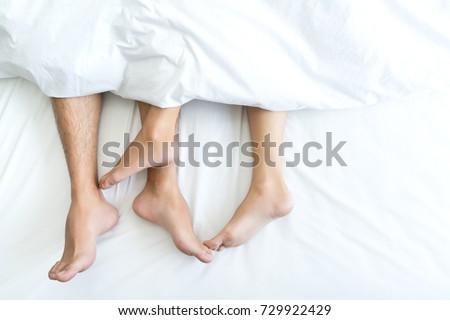 Foot lesbian lover toe