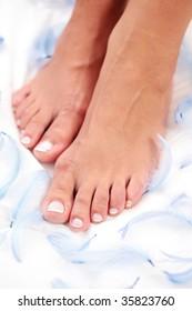 feet light as a feather - beauty treatment