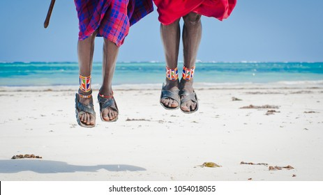 feet men the Masai tribe