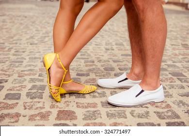 feet of men and women