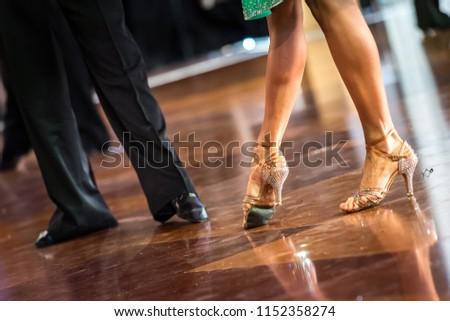 Latino feet