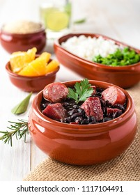 Feijoada (Bohneneintopf) - Brasilianisches traditionelles Essen