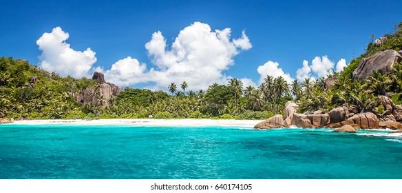 Felicite island, close to La Digue, Seychelles