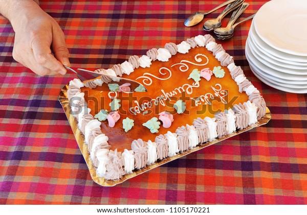 Peachy Feliz Happy Birthday Delicious Spanish Birthday Stock Photo Edit Funny Birthday Cards Online Inifodamsfinfo