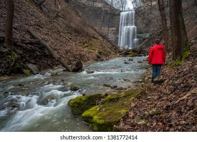 Felkers Falls Niagara Escarpment Hamilton Ontario