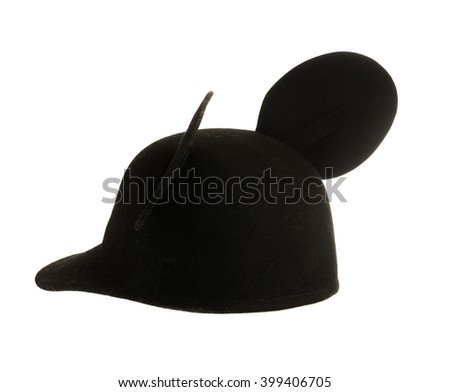 3c6b9295c9833 Felt Hat Isolated On White Background Stock Photo (Edit Now ...