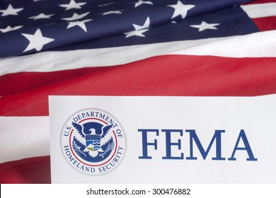 FEMA US Homeland Security Citizen and Immigration Services Flyer Closeup