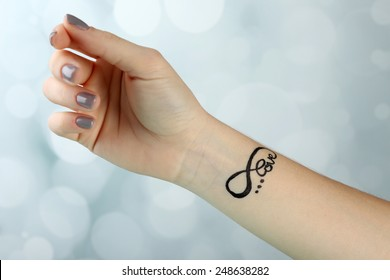 Girl Small Tattoos Images, Stock Photos \u0026 Vectors
