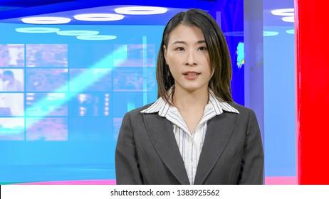 Female Tv Host Images, Stock Photos & Vectors | Shutterstock