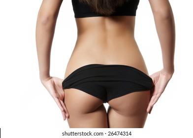 female backside