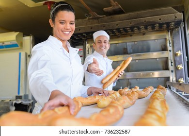 female baker apprentice