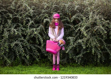 Female child at the park