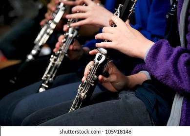 Klarinettenspieler