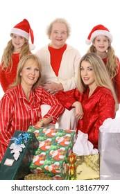 Female family holiday generation