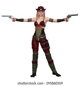 female gunfighter