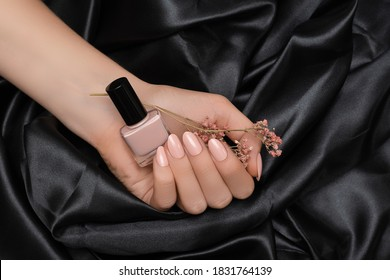 Pale Pink Nails Images Stock Photos Vectors Shutterstock