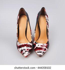 Female high-heeled shoes