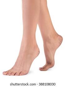 Female legs with cracks