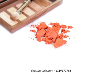female makeup shadow