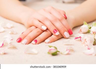 Female manicure