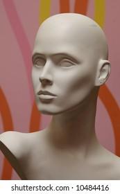 Female Mannequin Face