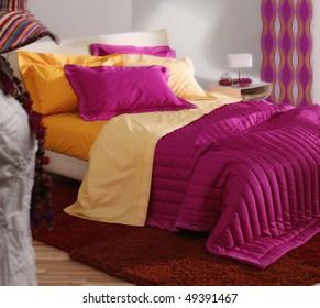 female modern bedroom