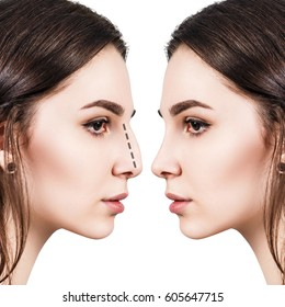 Face With Nose Images, Stock Photos & Vectors | Shutterstock