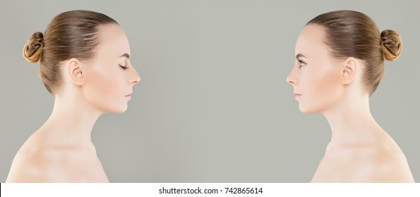 Nose Profile Images, Stock Photos & Vectors | Shutterstock