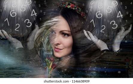 Female numerology, magician