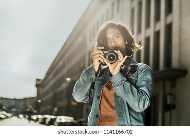 Female Photographer in the City