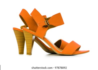 Female shoes in fashion concept - Shutterstock ID 97878092