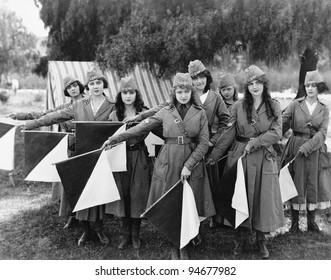 Female signal corps