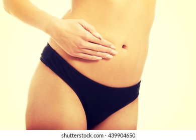Female slim belly