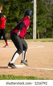 Female Softball Player