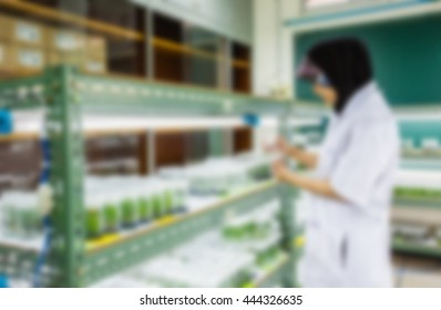 Female students university hold plant tissue culture bottle,islamic students,woman