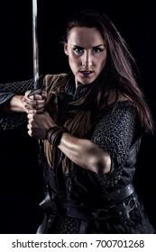 Female Warrior Medieval Fantasy Knight