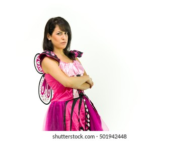 female woman model isolated white background