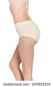 Feminine waist in pants naturally