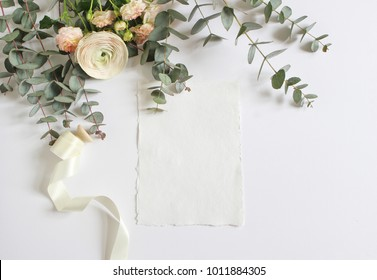 feminine wedding birthday desktop mockup 260nw 1011884305