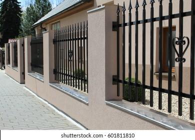 Metal Fence Images, Stock Photos & Vectors | Shutterstock