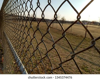 Fence at Baseball Field