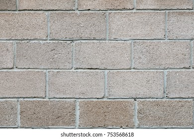 Fence construction material French brick four rows, classic masonry closeup, concept Foundation, background
