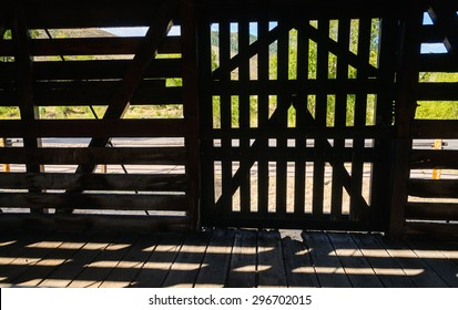 Fence and Gate at Curecanti National Recreation Area