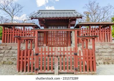 Fence of graveyard in Zenkoji temple - Nagano, Japan