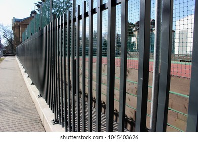 fence and playing-field
