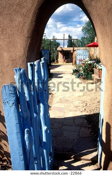 Fence in Santa Fe.