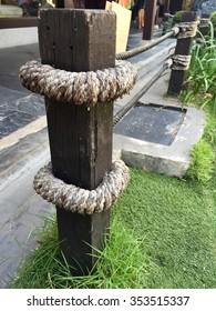 fence wood Japanese style