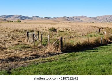 Fenced in Area on the Road to Petaluma