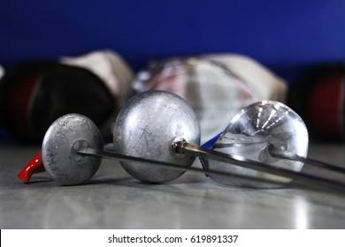 Fencing: Epee, Foil, Saber, Masks
