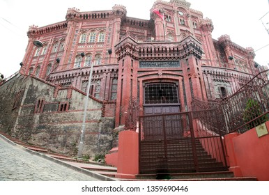 Fener-Rum Orthodox College (Fener-Rum Lisesi) at Balat District in Istanbul, Turkey.